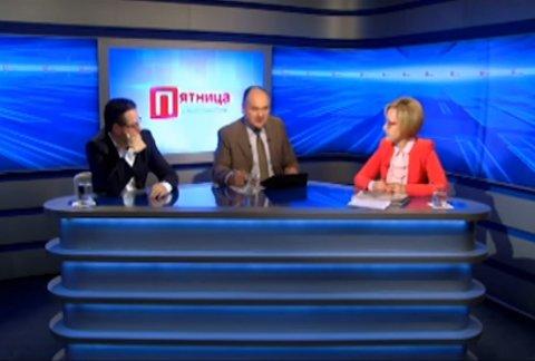Елена Боднаренко и Валерий Осталеп в передаче «Пятница с Анатолием Голя»