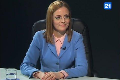 Председатель парламентской фракции ПКРМ Инна Шупак в передаче «Главное» на канале TVC 21