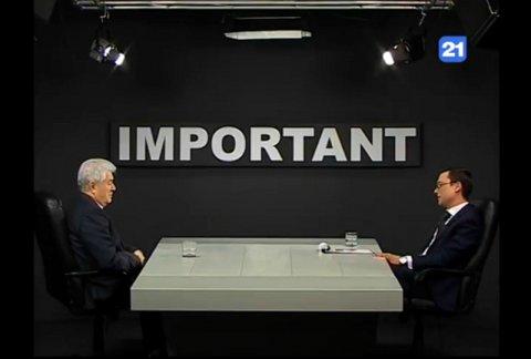 """Владимир Воронин в передаче """"Important"""" (06.04.2017)"""