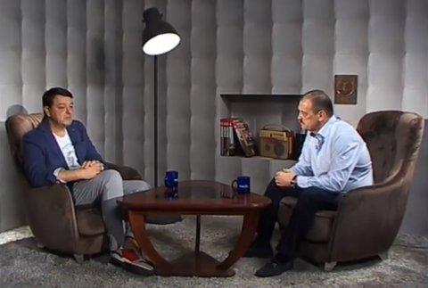 Константин Старыш, секретарь ЦК ПКРМ, в телепередаче «Вечерний разговор» на канале TVС 21