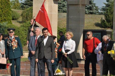 Торжественный митинг Партии коммунистов в День Освобождения Молдовы от немецко-фашистских и румынских оккупантов (ФОТО, часть II)