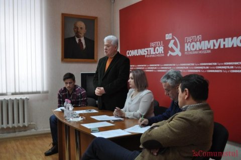 Recent, și-a desfășurat lucrările a V-ea Plenară a Comitetului Central al Uniunii Comuniste a Tineretului din Moldova