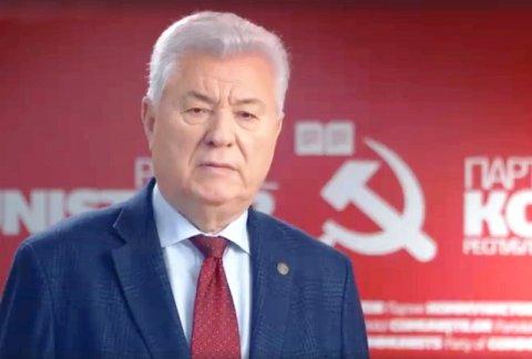Обращение к народу председателя Партии коммунистов Республики Молдова, третьего президента страны Владимира Воронина