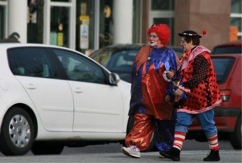 Цирк уехал, клоуны остались
